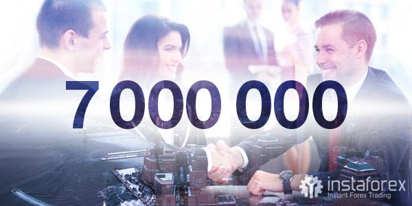 7 000 000 трейдеров выбрали ИнстаФорекс!
