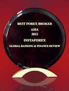 Лучший Брокер Азии 2012 по версии Global Banking & Finance Review