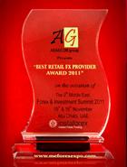 Лучший розничный брокер по итогам Forex & Investment Summit 2011