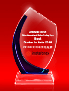 Лучший брокер Азии 2013 по версии the China International Online Trading Expo (CIOT expo))