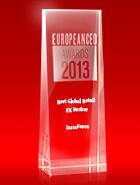Лучший глобальный ритейл-брокер 2013 года по версии European CEO Awards