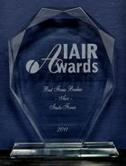 Лучший Брокер Азии 2011 по версии IAIR Awards