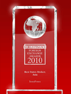 «InstaForex est le meilleur courtier en Asie de 2010» selon les World Finance Awards